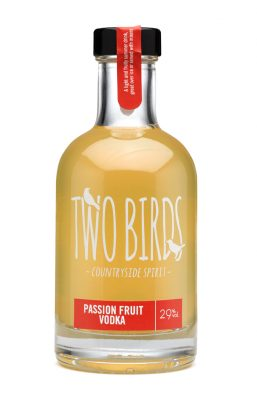 Two Birds Passion Fruit and English Vodka
