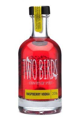 Two Birds Raspberry and English Vodka