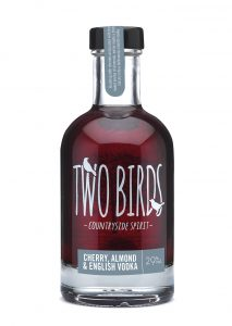 Two Birds Cherry, Almond and English Vodka