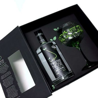 Twisted Nose Gin and Glass Gift