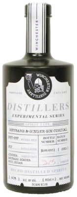 Distiller's Experimental Series Rhubarb and Ginger Gin Cordial