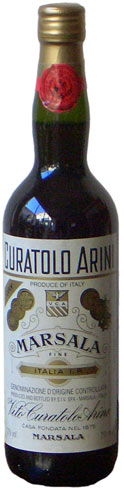 Curatolo Arini Marsala Fine Secco DOP