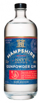 Hampshire Navy Strength Gunpowder Gin