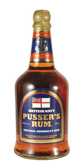 Pusser's Rum Blue Label