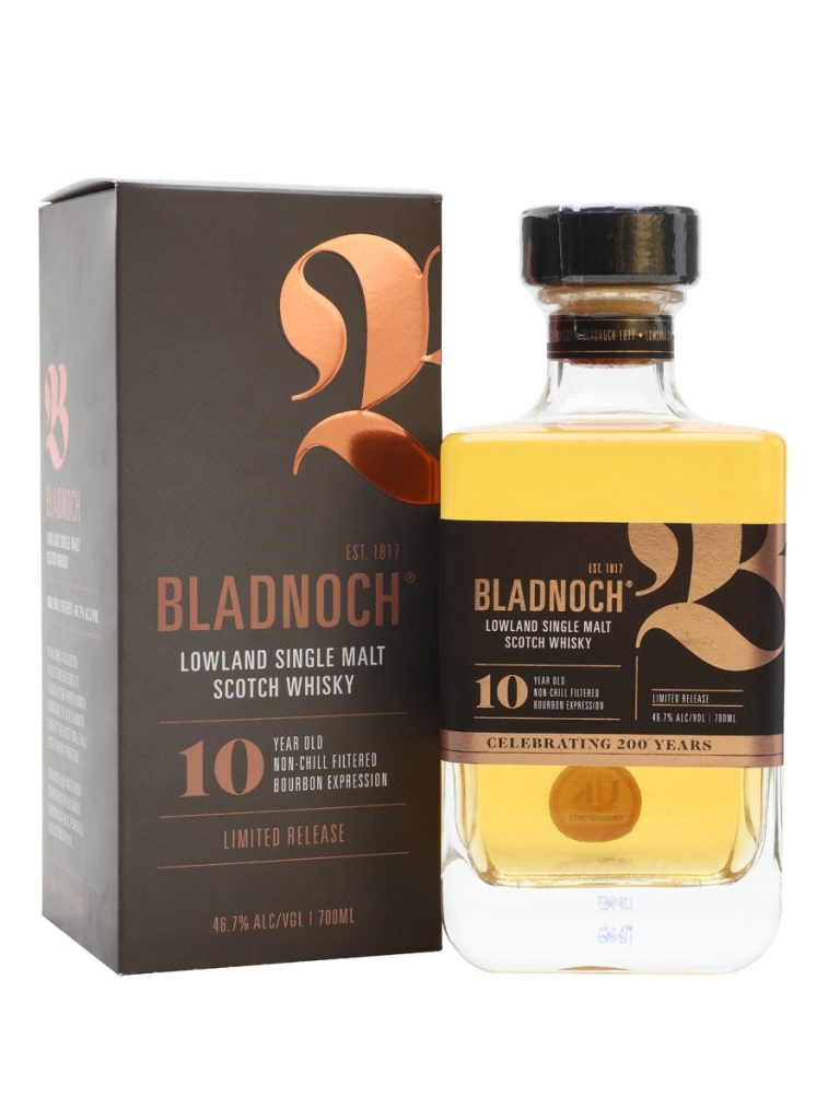 Bladnoch 10 Years Old Bourbon Expression