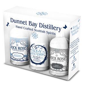 Dunnet Bay Distillery Triple Minis set
