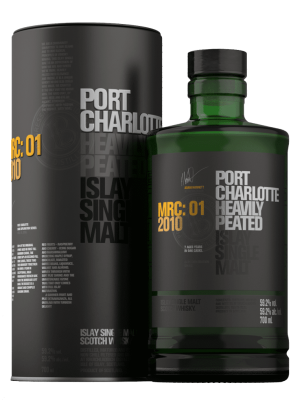 Port Charlotte Heavily Peated Islay 10 Years Old